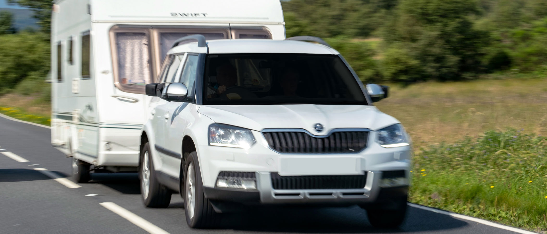 Towing A Caravan - Remapping for more power