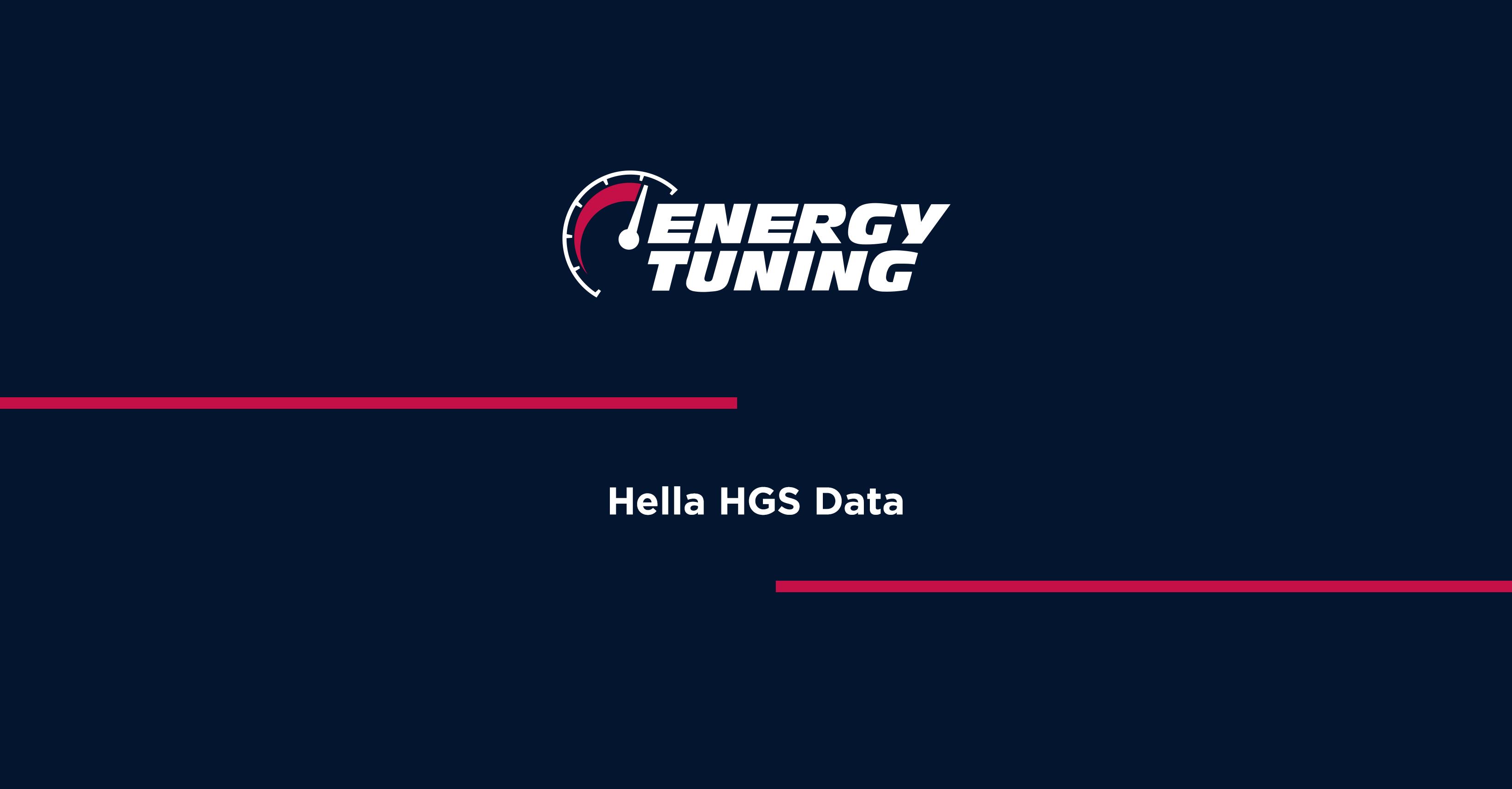 Hella HGS Data Order Online